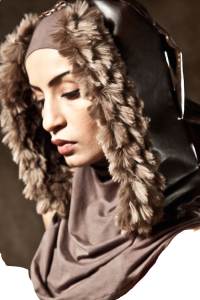 Noor-DIzar winter hijab