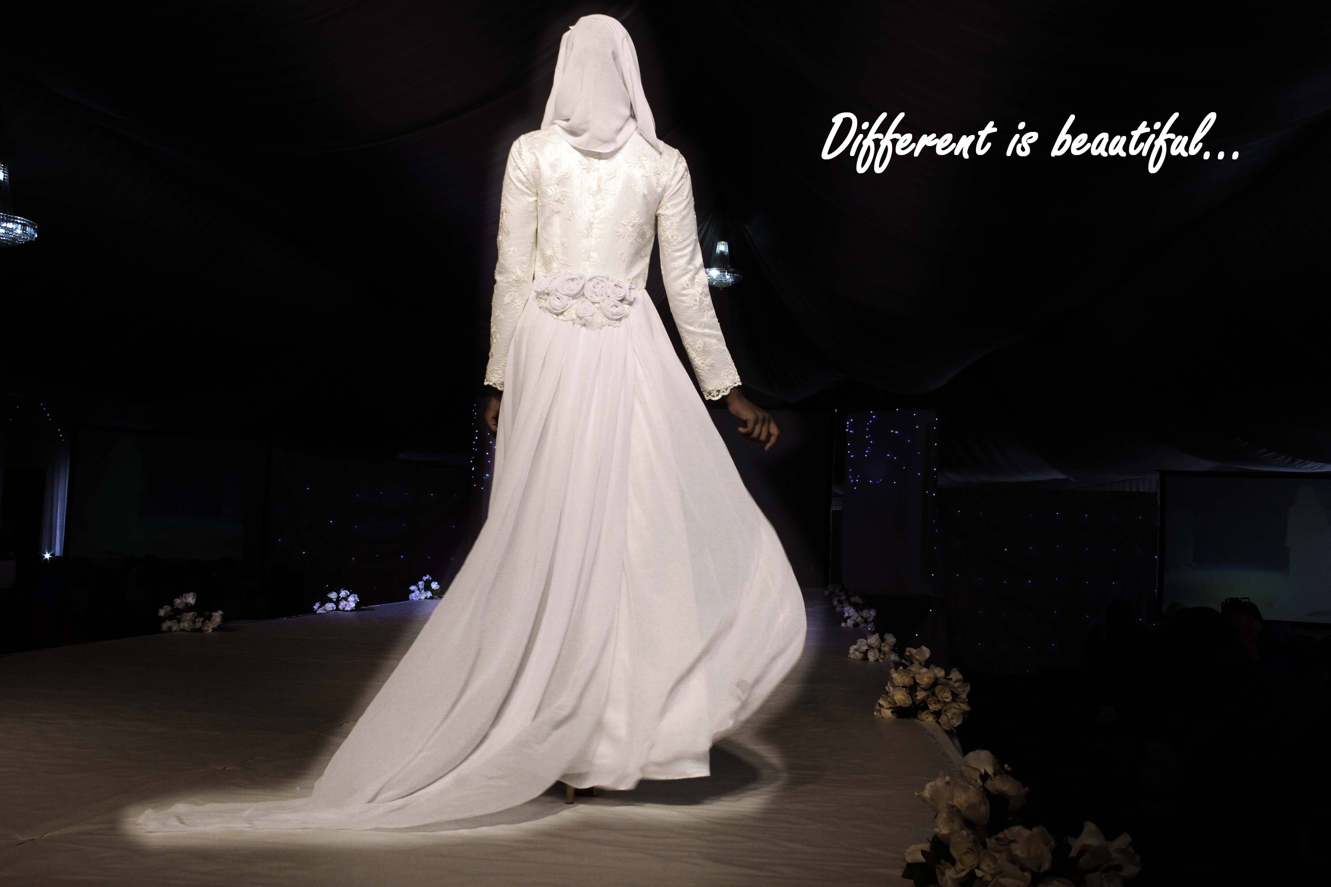 Creating a new line of contemporary wedding gowns | Islamic Fashion ...