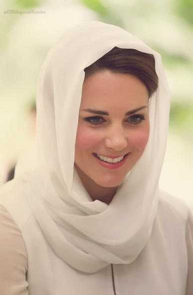 Kate Middleton Hijab