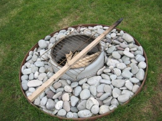machine firepit