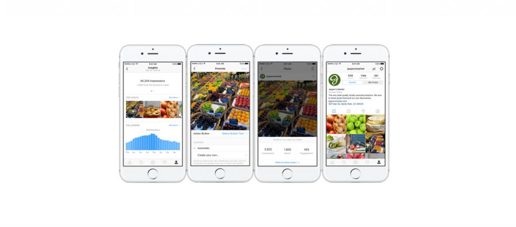 Instagram's new business tools