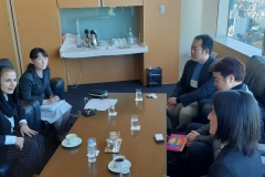 IFDC Chairwoman meets with Japan Fashion Association on collaboration for Islamic fashion opportunities with Japan