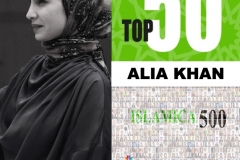 ALIA KHAN named in the TOP 50 of the 500 Global Leaders who make the Islamic Economy in the world – Islamica 500. Feb 18, 2020