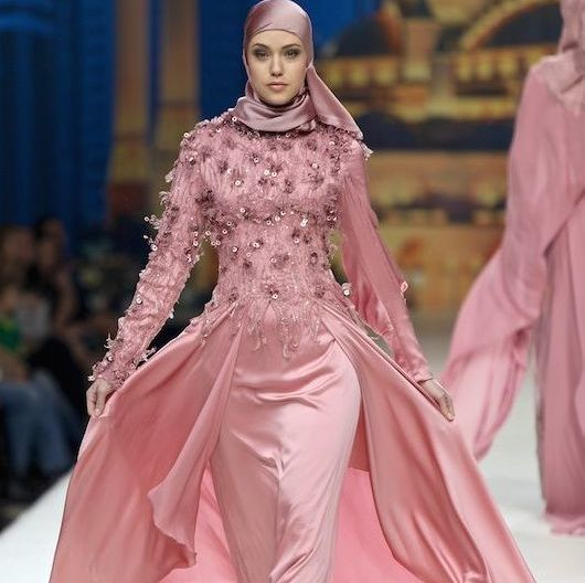 Muslim Clothing Gets Chic With Hijab Couture Islamic