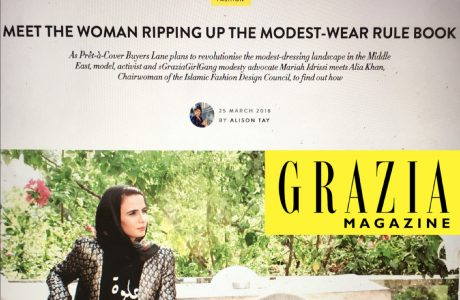 IFDC's Grazia Magazine feature