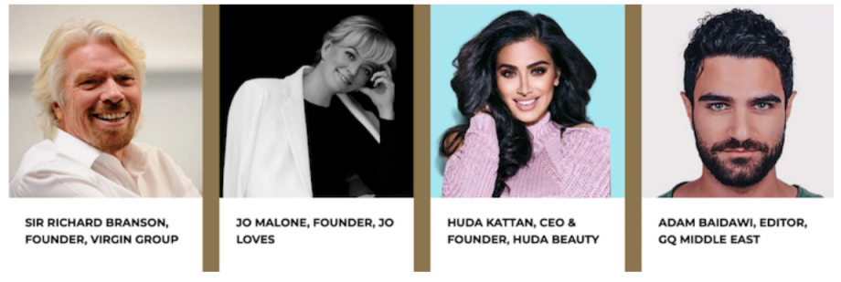 sir-richard-branson-jo-malone-huda-kattan-adam-baidawi-The-retail-summit-Islamic-fashion-and-Design-Council-IFDC-Pret-A-cover-buyers-Lane