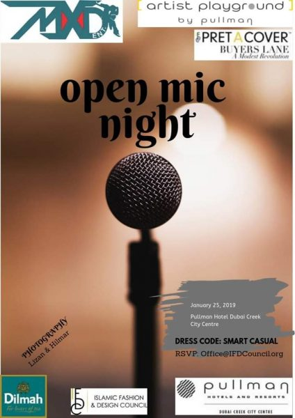 Open Mic Night - IFDC