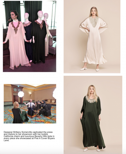 PACBL-Retail-summit-ANNA VESE is a luxury kaftan brand founded by designer and stylist, Brittany Somerville.